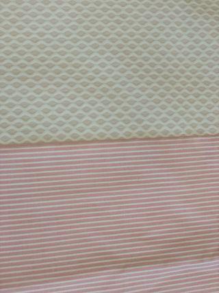 Colcha para cuna hecha a mano