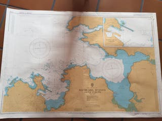 Carta náutica de las Rías de Ares, Betanzos.....