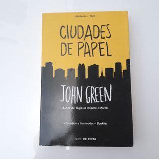 Ciudades de papel John Green.