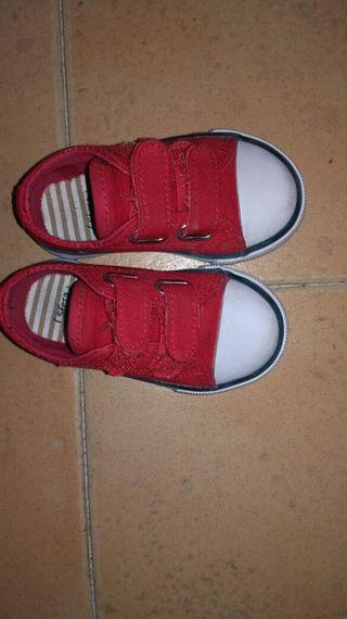 Zapatillas lona número 20