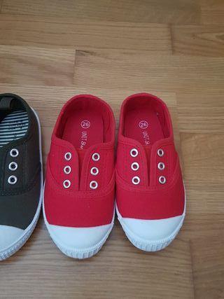 Zapatillas lona nuevas