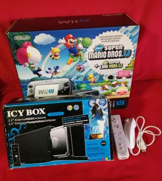 Wii U Premium 32GB y 80 Juegos