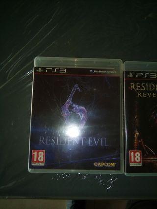Lote de resident Evil