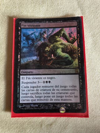 Carta MAGIC Fin Viviente