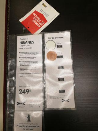 ESCRITORIO IKEA HEMNES
