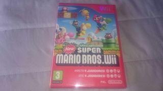 """New Super Mario Bros Wii """" PRECINTADO """""""
