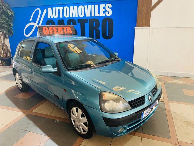 Renault Clio 1.2 gasolina 75cv año 2004