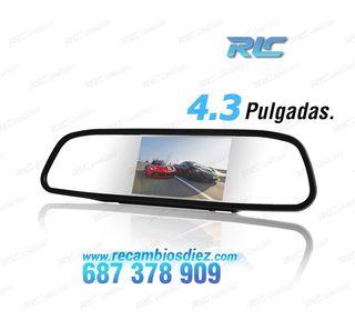 ESPEJO CON MONITOR DE 4,3 PULGADAS