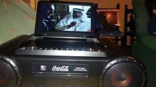 Televisión, radio fm. karaoke, dvd .usb. game func