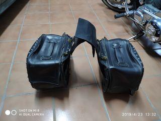alforjas para motos custom