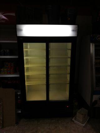 cámara frigorífica de doble puerta