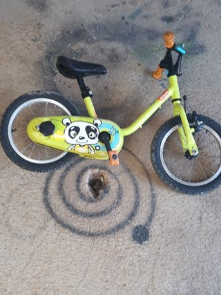 bicicleta para aprender para niños