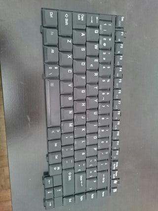 teclado portátil 15.4