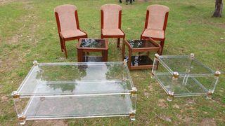 mesas de metacrilato