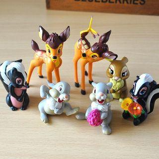 Lote Figuras Bambi Disney Nuevas