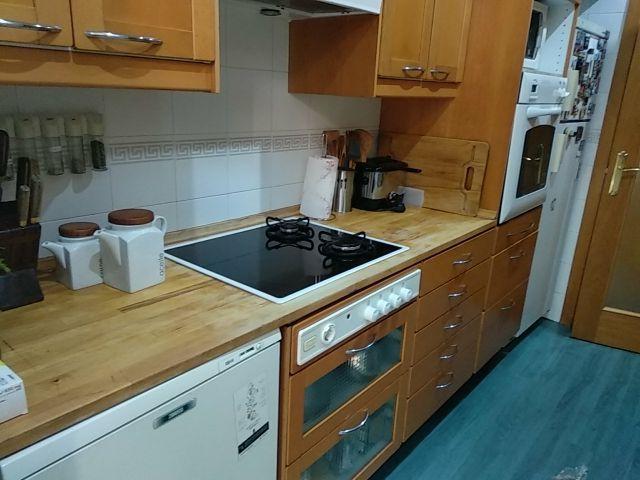 Muebles de cocina segunda mano madera de segunda mano por 1.300 € en ...