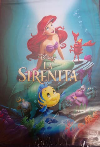 DVD La Sirenita nueva