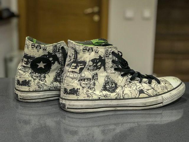 Converse Edición Especial Gorillaz 44