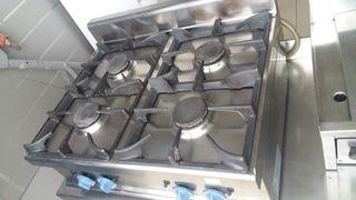 cocina 4 fuegos gas ciudad o butano