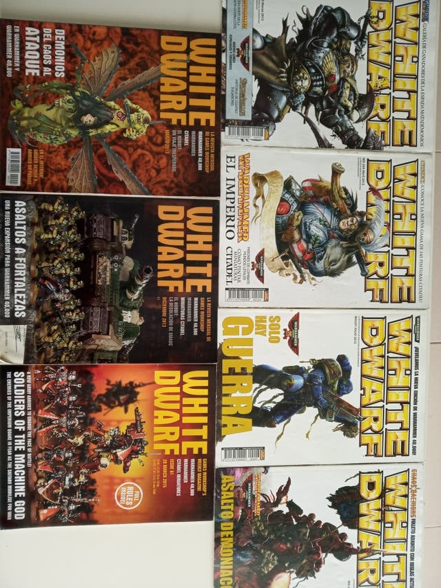 revistas White dwarf Warhammer