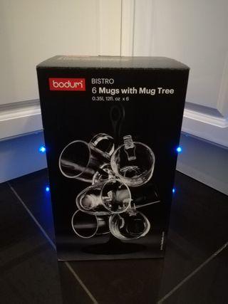 BORUM 6 MUG TREE NEW
