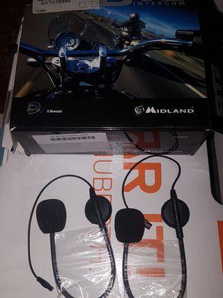Micrófonos Midland BT2 nuevos