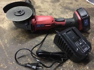 Amoladora bateria radial