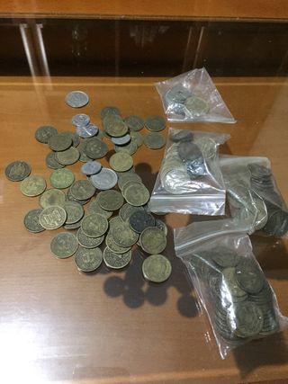 Monedas pesetas 1944