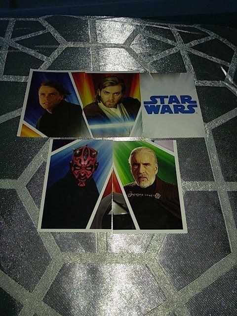 Cromos Star Wars Carrefour