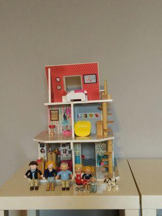 Casita madera Amanda Family de Imaginarium