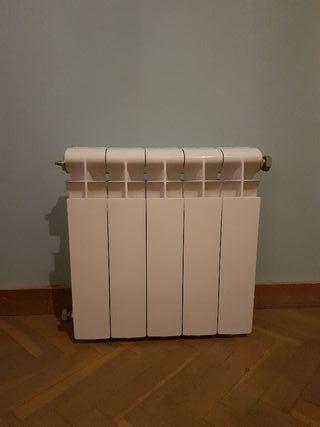 Radiador aluminio 5 módulos 40cm x 42cm