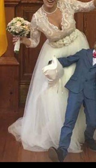vestido novia 220