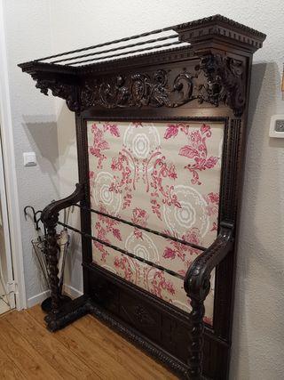 Mueble recibidor Bengalero restaurado