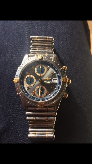Reloj Breitling Chronomat acero y oro . Rolex