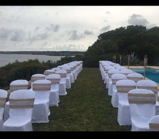 lazos sillas boda