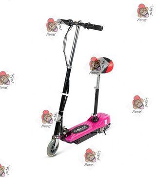Patinete, Scooter eléctrico para niños con sillín