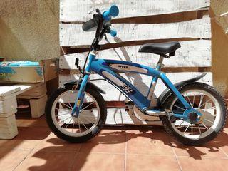 bici niño 4 años