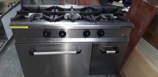 cocina industrial bar rte