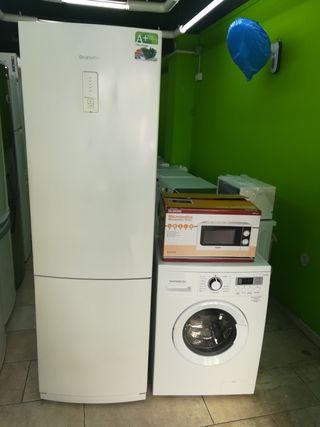 pack Nevera y lavadora marca daewoo