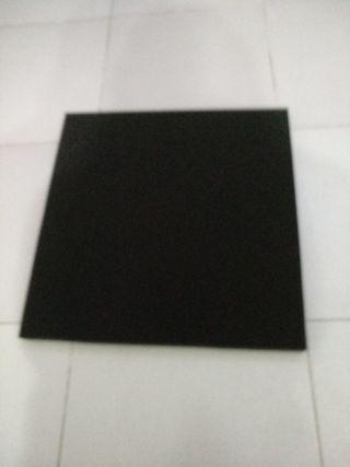 placas de goma acústica