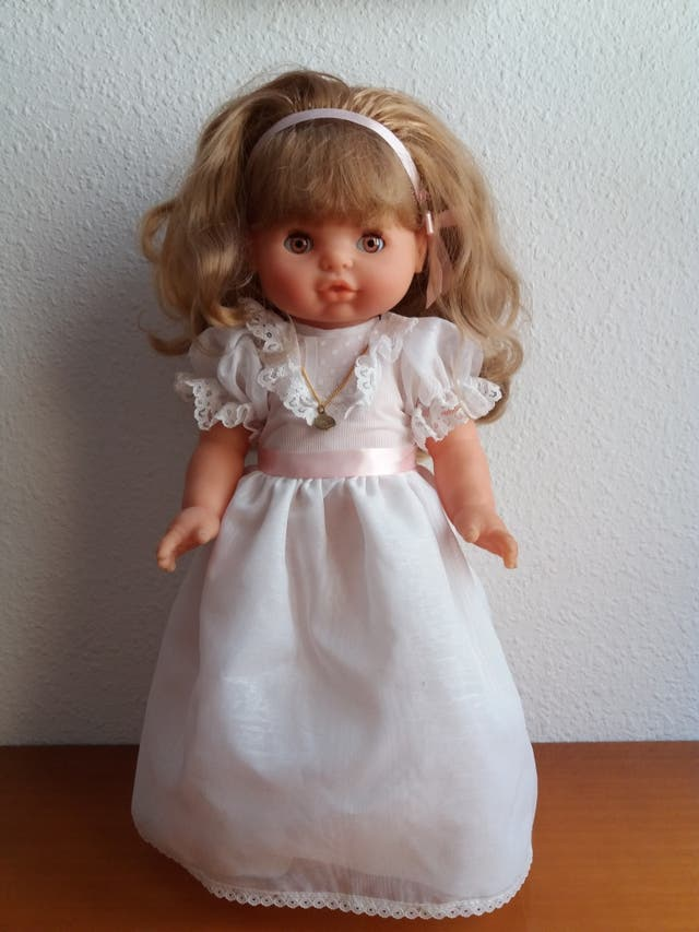 muñeca comunion años 90,de Famosa