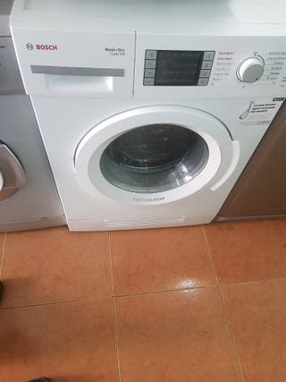lavadora secadora bosch 8kg