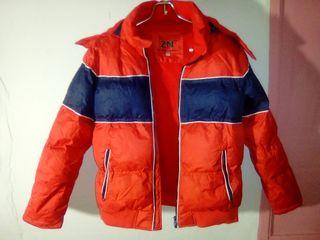 abrigo niño capucha 13 14 años