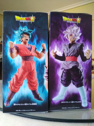 Pack figs Blood of saiyan Goku black & Dios goku
