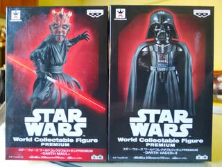 WCF premium Star Wars Darth Vader y Darth Maul
