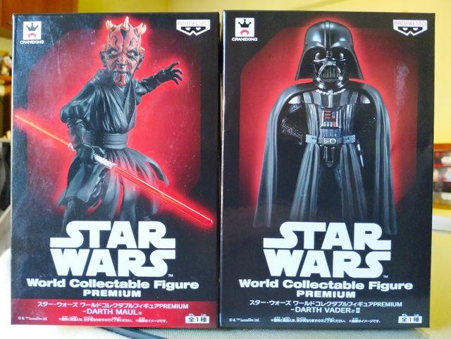 WCF premium Star Wars Darth Vader y Darth Maul