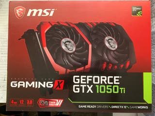 MSI GeForce GTX 1050Ti GAMING X 4GB GDDR5