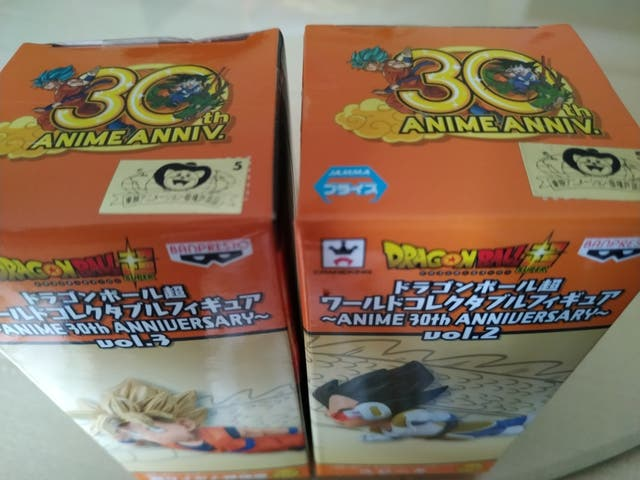 WCF dragon ball 30th aniversario Goku & Vegeta