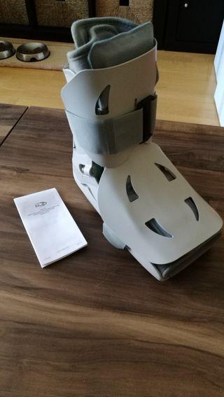 bota ortopédica, esguinces, fracturas