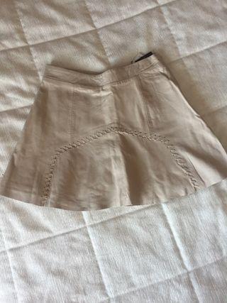 2ae812ed8 Falda de piel de segunda mano en Las Rozas de Madrid en WALLAPOP